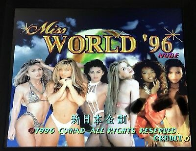 PCB: Miss World 96 Nude, Vollfunktionsfähig - Jamma, Hardcore Variante