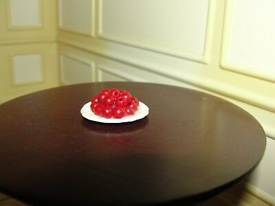 Dollhouse Miniature Cherry Tomatoes on Plate