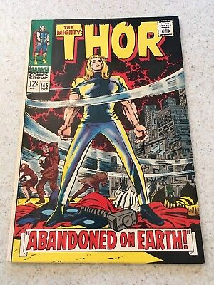 The Mighty Thor 145  VF+  8.5  High Grade   Circus Of Crime   Infinity War