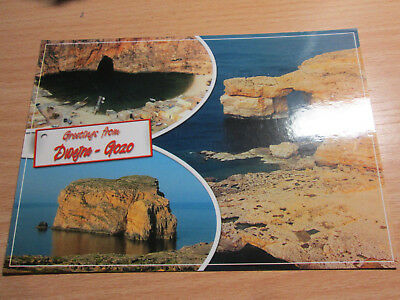 "#M - 001# AK: ""Greetings from Dwejra, Gozo"""