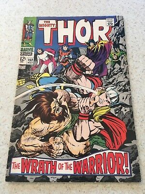 The Mighty Thor 152  VF-  7.5  High Grade  Destroyer  Sif  Loki  Infinity War
