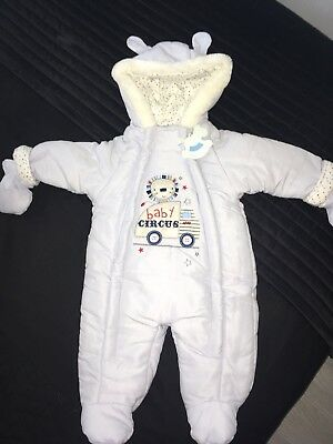 980514f8a588 HUGO BOSS BABY Boys Fleece Snowsuit Designer 6 Months All In One ...