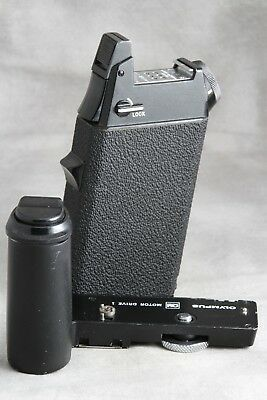 Olympus OM Motor Drive 1 with M.18 Battery Holder 1, Untested