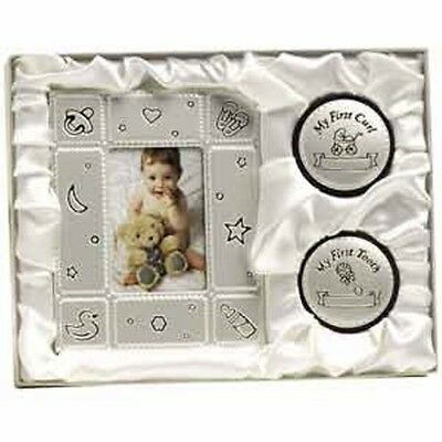 Baby girl/boy first frame, curl & tooth keepsake birthday shower baptism gift