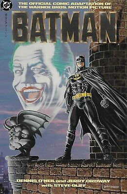 Batman The Official Comic Adaption / US GN / Dennis O´Neil & Jerry Ordway