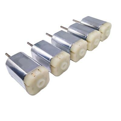 US Stock 5pcs DC 12-18V 14500RPM SF-266SA-1G160 Square 6-Pole Rotor DC Motor
