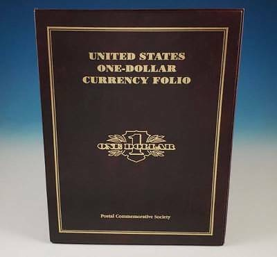 Postal Commemorative Society US One Dollar $1 Currency Folio Uncut Star Note Set