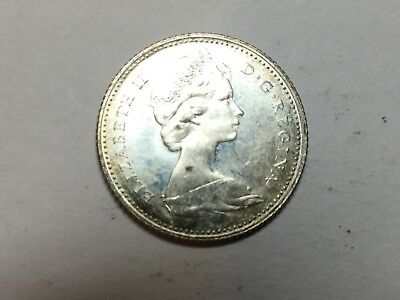 Canada 1967 10 Cent coin nice uncirculated
