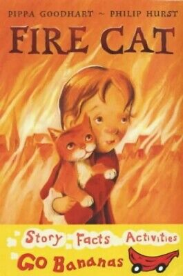 Fire Cat (Red Go Bananas S.) by Hurst, Philip Paperback Book The Cheap Fast Free