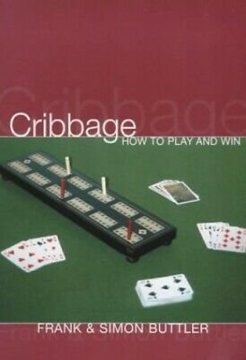 Cribbage: How To Play And Win by Buttler, Dr Simon Paperback Book The Cheap Fast