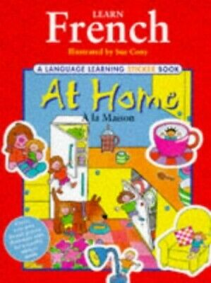 Learn French: At Home (Language Learning Sticker Books) Other book format Book