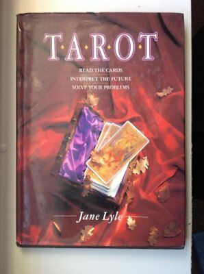 Tarot by Lyle, Jane Hardback Book The Cheap Fast Free Post