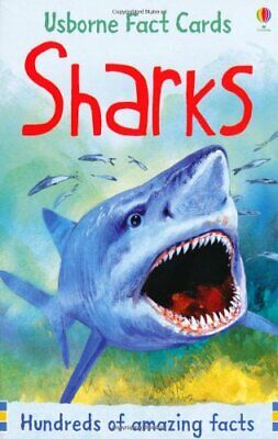 Sharks (Usborne Fact Cards) (Facts and Lists) by Philip Clarke Book The Cheap