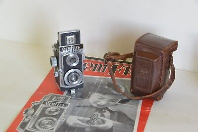Showa Optical Gemflex Type 1 Occupied Japan 1949 With Case And Leaflet