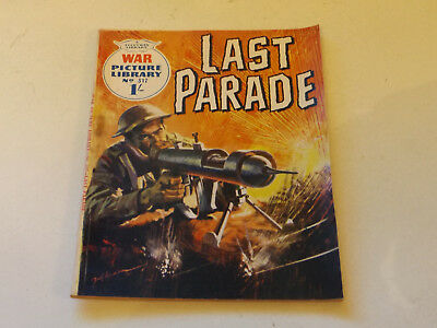 WAR PICTURE LIBRARY NO 317!,dated 1965!,GOOD for age,great 53!YEAR OLD issue.