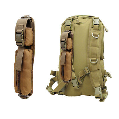 Molle Sundries EDC Tool Bag Tactical Backpack Shoulder Strap Nylon Pouch tan