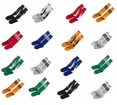 Long Sports Socks Men's Youth Kids Womens Traning Football Rugby Hockey Sock New