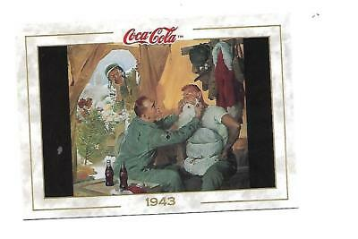 Coca Cola Collection (1993) 1943 # 44 Haddam Sundblom Christmas Military Santa