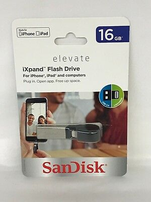 SanDisk 16GB iXpand USB Flash Drive for iPhone and iPad  13-6E