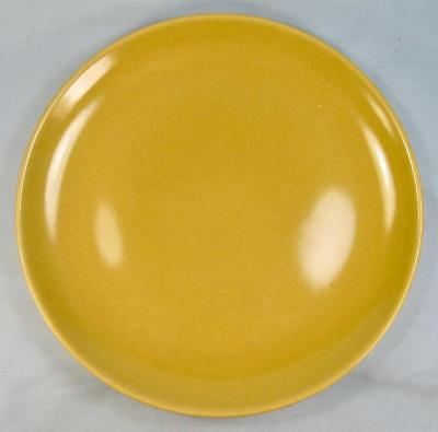 Casual Avocado Yellow Dinner Plate Iroquois Russel Wright USA Q1 Chartreuse (O2)