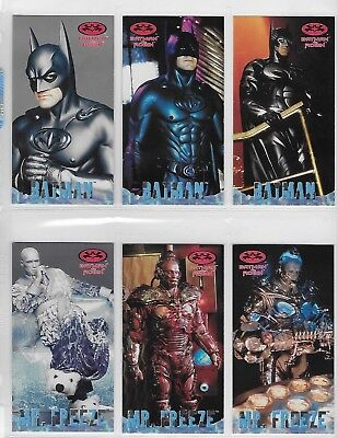 Batman And Robin Widevision Profile Cards By Skybox  P1 T0 P12    Choose