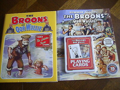 THE BROONS & OOR WULLIE D.C.Thompson - THE GOLDEN YEARS & 2010 SUMMER ANNUAL