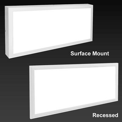 30W LED Recessed or Surface Mount Panel Light Premium Grade Lights 300 x 600
