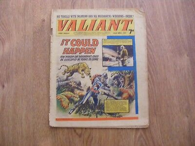 1967 Valiant Comic dated April 22nd 1966 - in ok condition