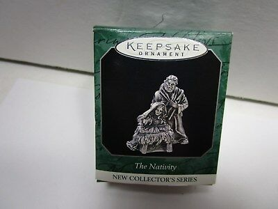 Hallmark Ornament- The Nativity Miniture   1998