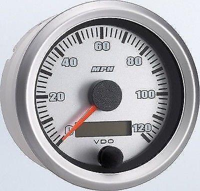 VDO Vision Silverstone Programmable Speedometer #437901 1930 32 37 40 Ford Chevy