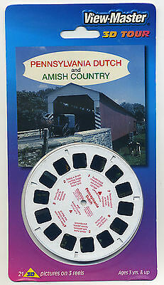 Pennsylvania Dutch and Amish Country View-Master Packet Sealed Mint