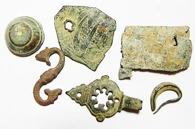 ZURQIEH -as6538- ANCIENT HOLY LAND, LOT OF ANCIENT RELICS. MOSTLY ROMAN. 200 - 3