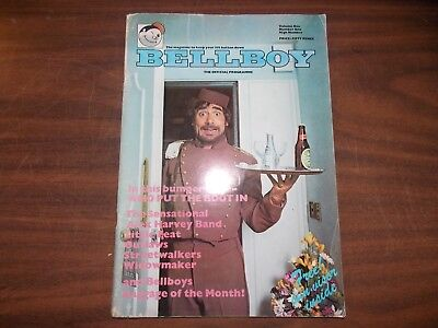 The Who 1976 UK Tour Program - Keith Moon - The Bellboy - VG