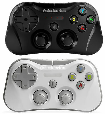 SteelSeries Stratus Wireless Gaming Controller for iPhone, iPad - Black / White