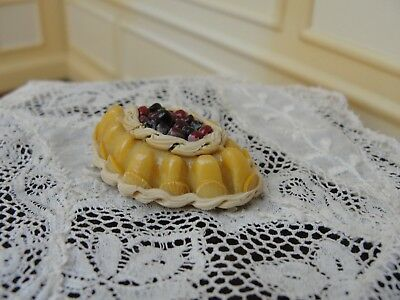 Dollhouse Miniature Fancy Dessert w Cherries