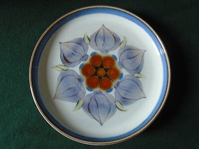 "Two Denby 'Chatsworth' salad plates 8 1/2"" (21.5cms) diameter"