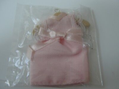 Dollhouse Miniature Little Girl Pink Dress     MIP