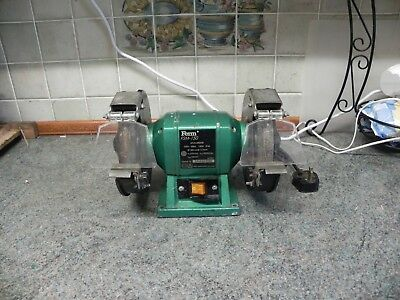 Ferm Electric Bench Grinder 150W 250V  Twin 150mm Grinding Stones