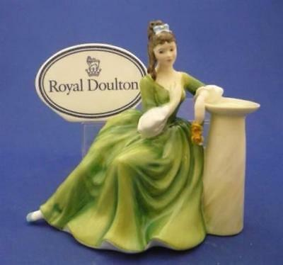 """SECRET THOUGHTS"" Royal Doulton England Bone China Pretty Lady Figurine HN2382"