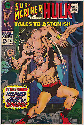 Tales to Astonish   # 94       1967        FN+