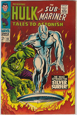 Tales to Astonish   # 93       1967        VF+
