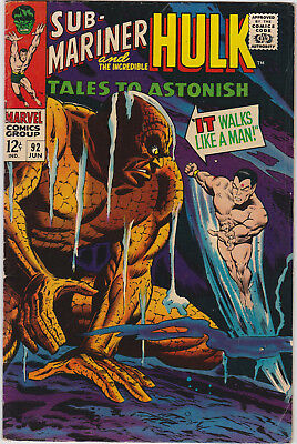 Tales to Astonish   # 92       1967        FN+