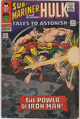Tales to Astonish   # 82        1966         VG/FN