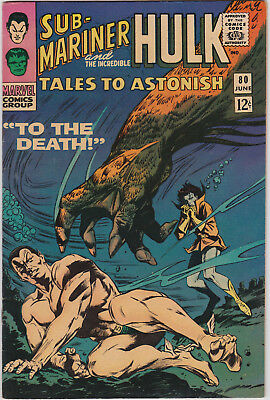Tales to Astonish   # 80        1966         VF-