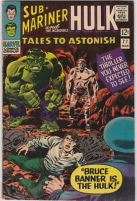 Tales to Astonish   # 77        1966         VG