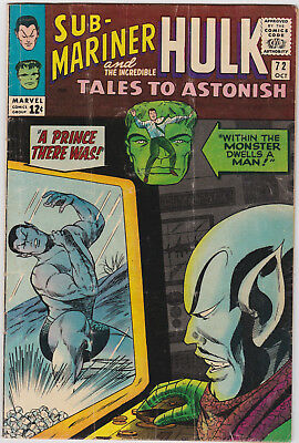 Tales to Astonish   # 72        1965         VG
