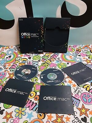 Microsoft Office Mac Home and Business 2011 - Pre-owned Lot of 2