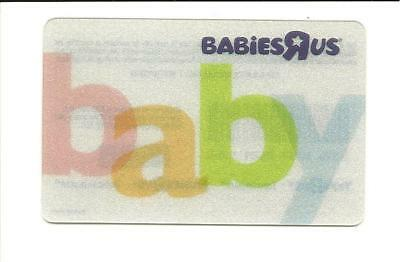 Babies R Us Baby Gift Card No $ Value Collectible Toys R Us