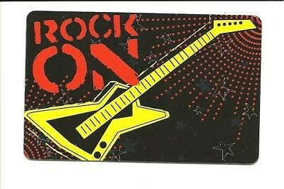Toys R Us Rock On Guitar Gift Card No $ Value Collectible ToysRUs