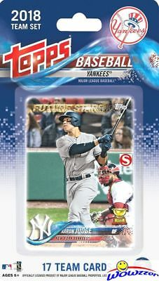 New York Yankees 2018 Topps Limited Edition 17 Card Team Set-AARON JUDGE,STANTON